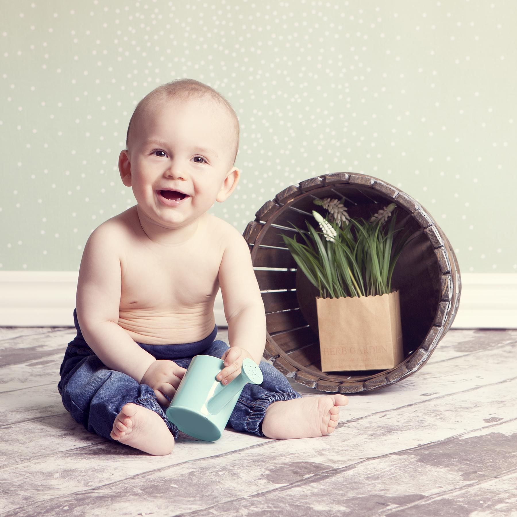 Fotograf Ann - Baby fotografering