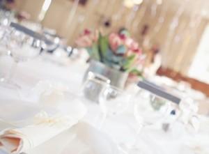 Bryllup fotograf bordpynt