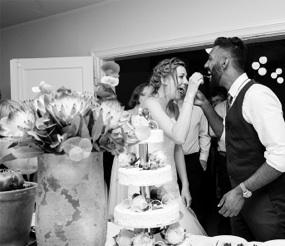 Bryllupsfotograf kage