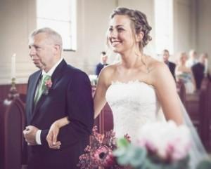 Bryllup fotograf kirke