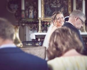 Bryllupsfotograf kirke