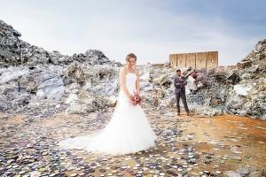 Bryllupsfotograf utraditionelt