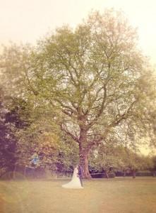 Bryllupsfotograf brud
