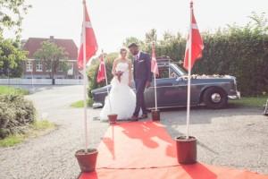 Bryllupsfotograf bil