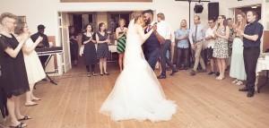 Bryllupsfotograf brudevals