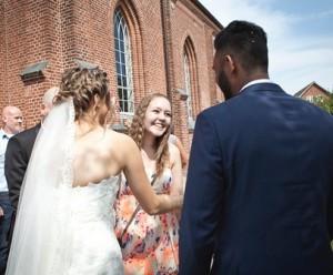Bryllup kirke fotograf